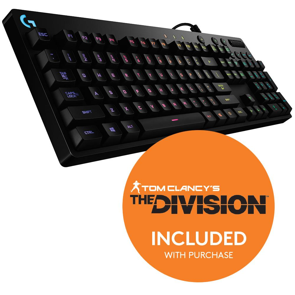 logitech g810 mechanical keyboard how to change colour
