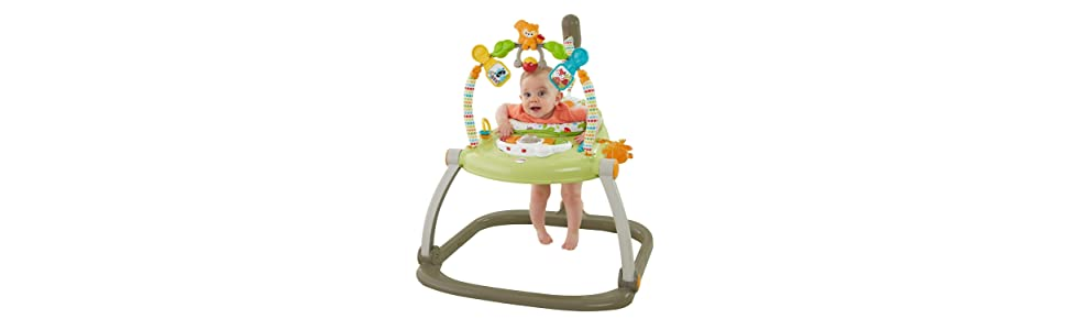 Fisher Price Woodland Friends Space Saver Jumperoo Amazon