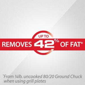 Remove 42% of the Fat