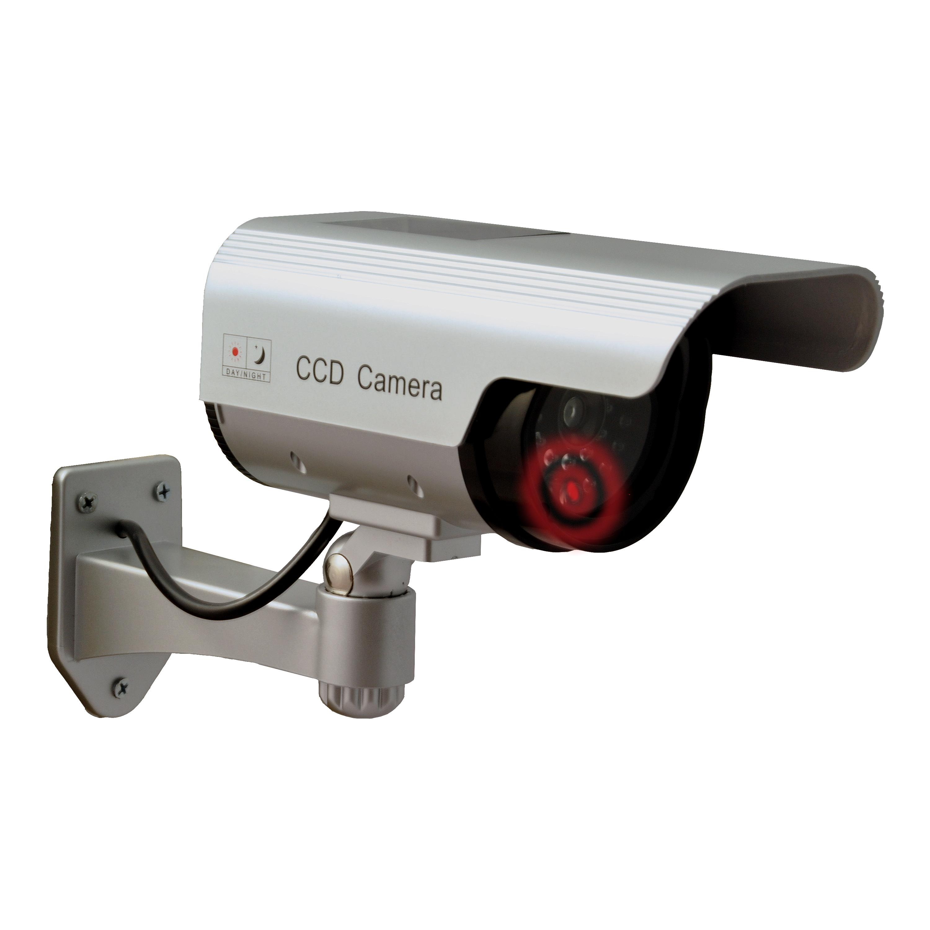 Sunforce 82340 solar fake security camera with blinking light view larger aloadofball Image collections