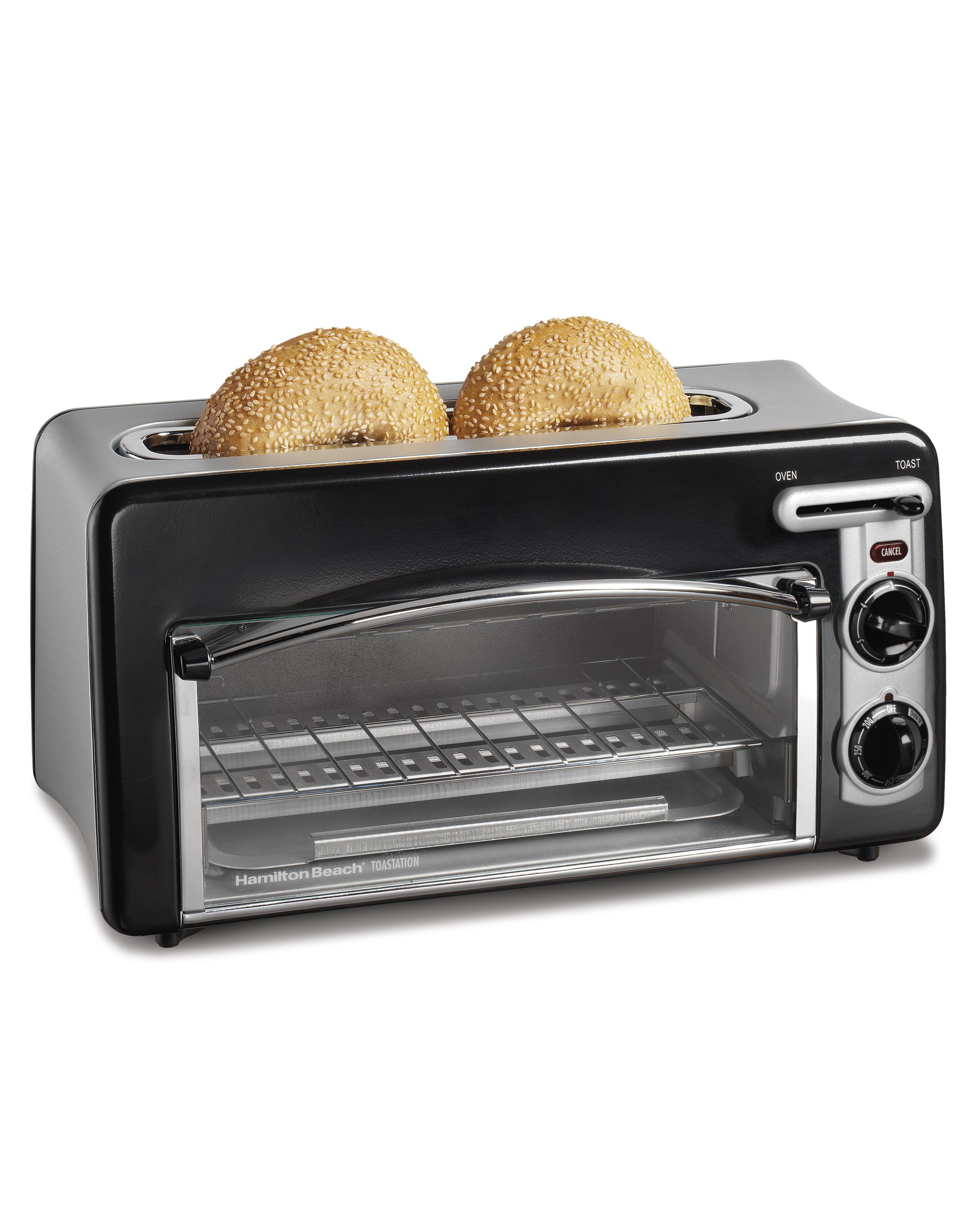 view calphalon oven beach hamilton larger black mini toaster toastation slice and dp