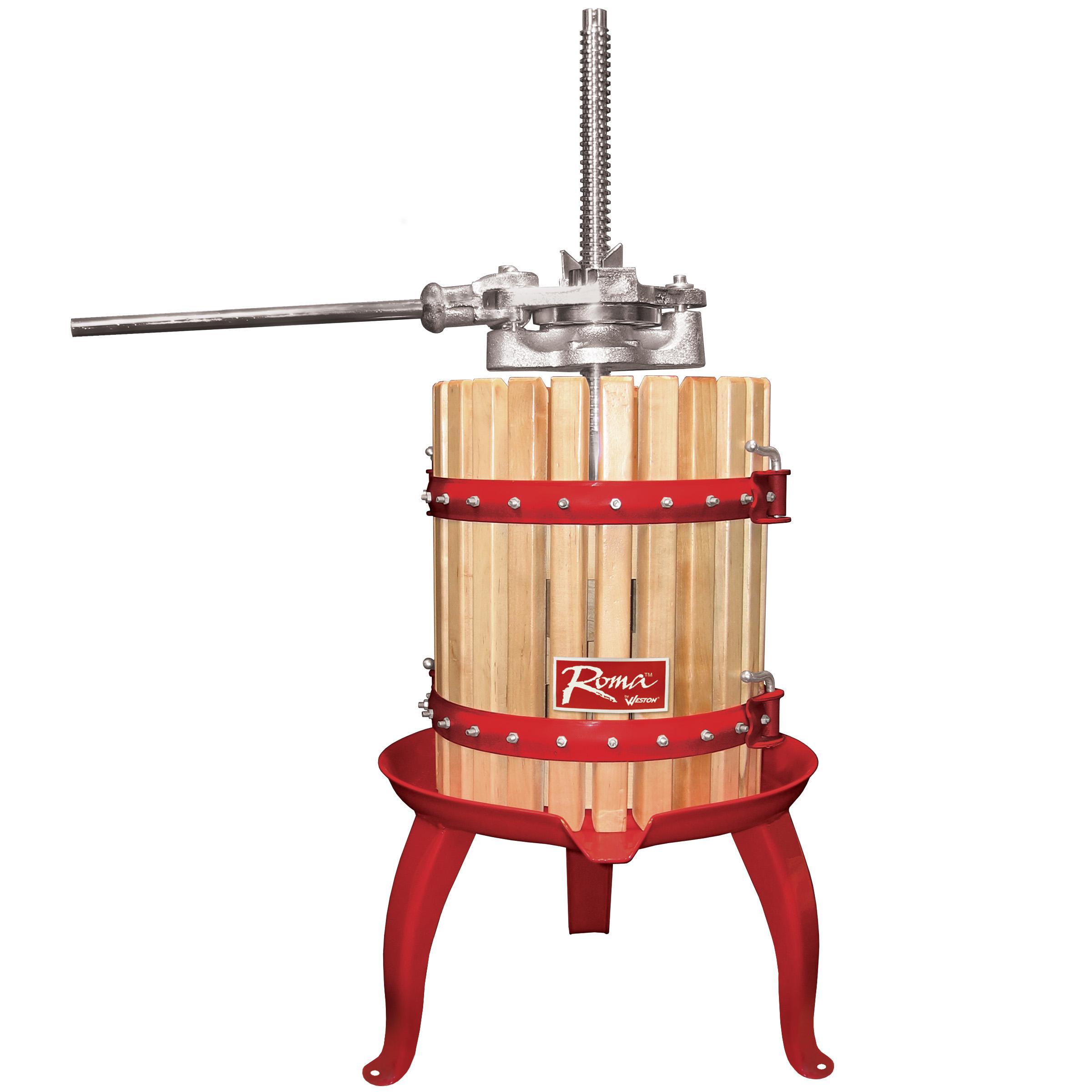 Fruit crusher grape apple crusher grinder for grape apple fruit - Weston Fruit And Wine Press Press Apples