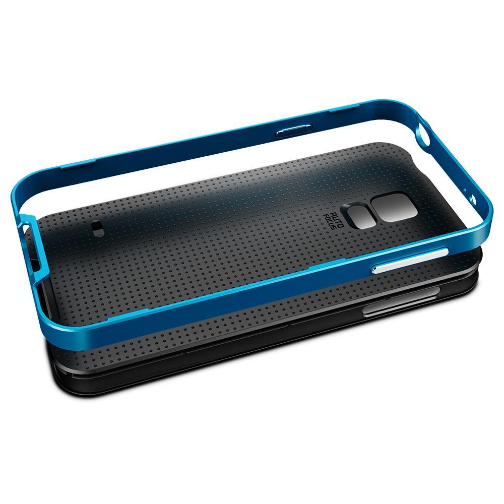 Galaxy S5 Case, Spigen [METALLIZED BUTTONS] Neo Hybrid ...