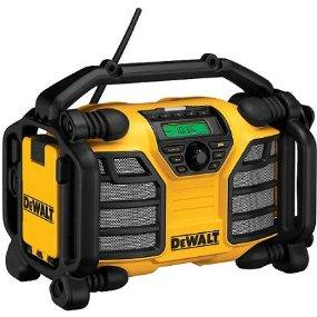 work radio, radio, speakers, am/fm, boom box, stereo