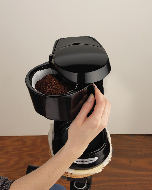 Portable Glass Coffee Maker : Hamilton Beach Kitchen Portable Coffee Brewer Tea Maker Cafe Bar Coffeemaker
