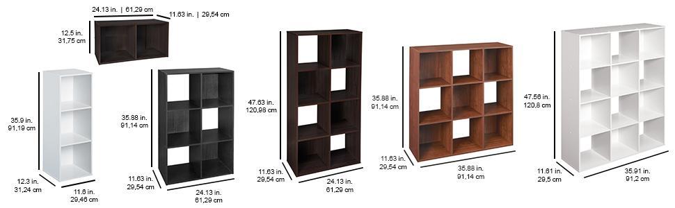 Closetmaid 1290 Cubeicals Organizer 12 Cube White Amazon Ca Home