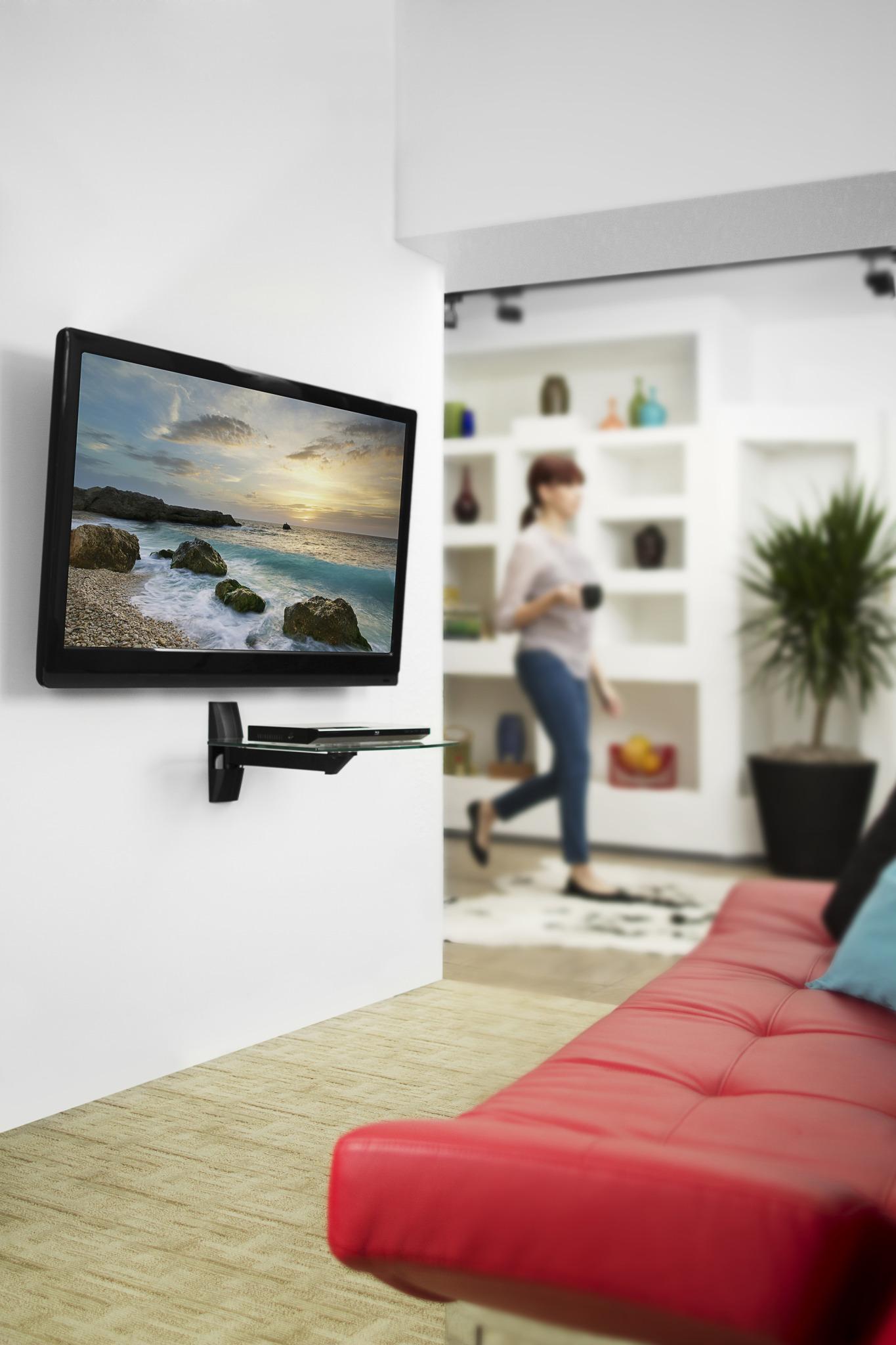 Omnimount Ecsb Component Shelf For Crt Tvs Amp Video