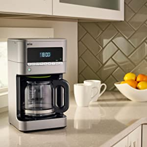Braun Coffee Maker Set Time : Braun KF7170SI BrewSense Drip Coffee Maker - Ad#: 4859317 - Addoway