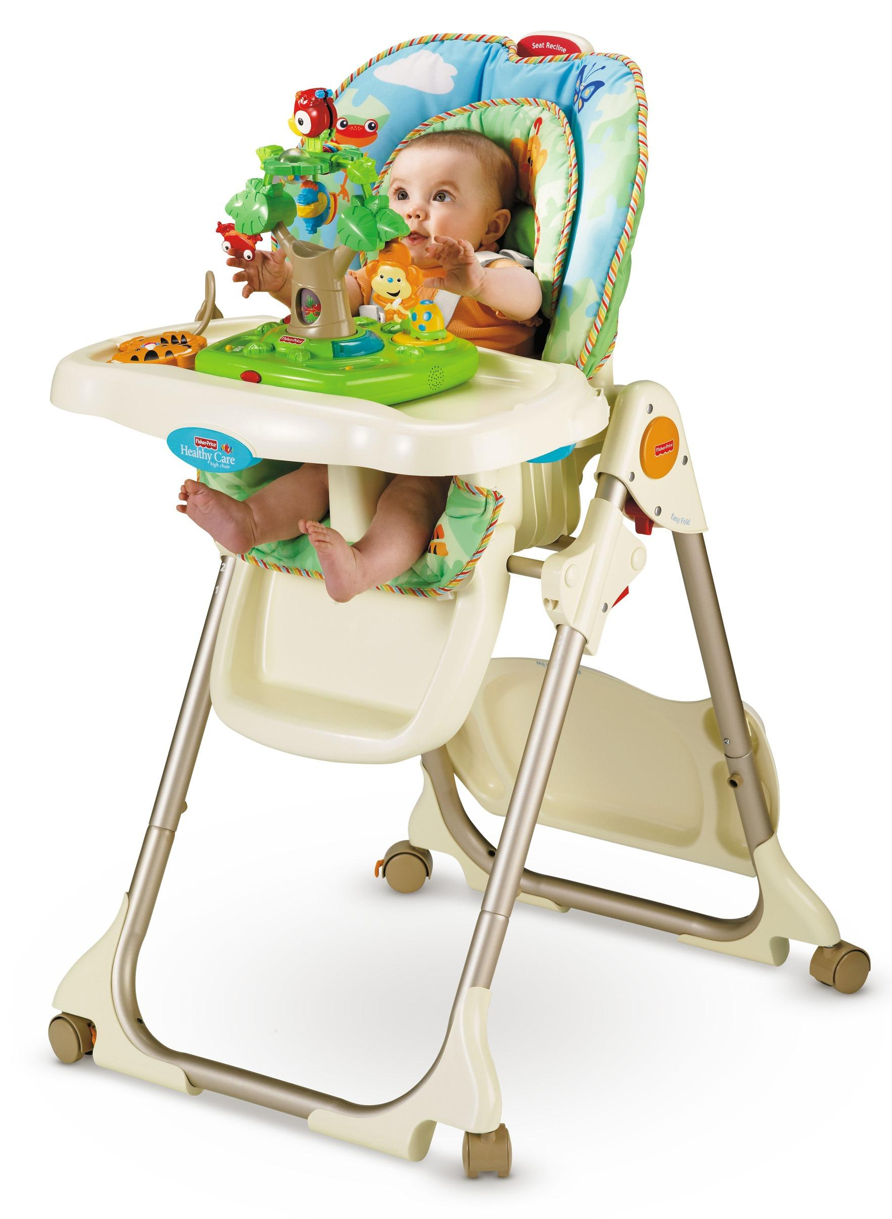 Fisher price rainforest healthy care high chair amazon ca baby