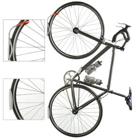 Delta Leonardo Single Bicycle Rack With Da Vinci Tire Tray