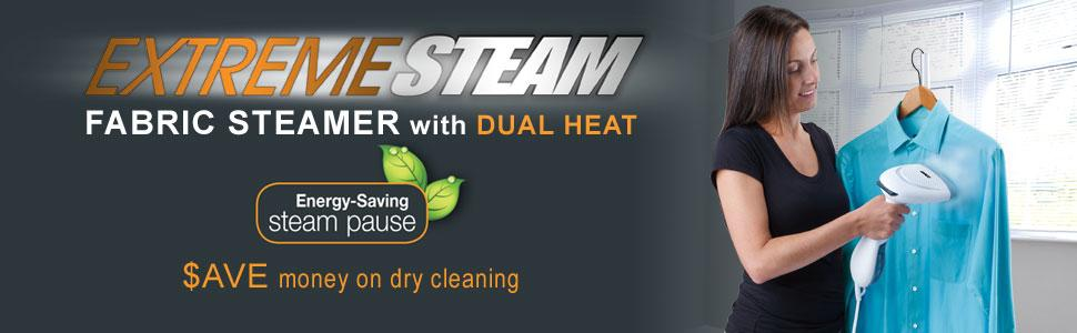 Extreme Steam Hand Held Fabric Steamer