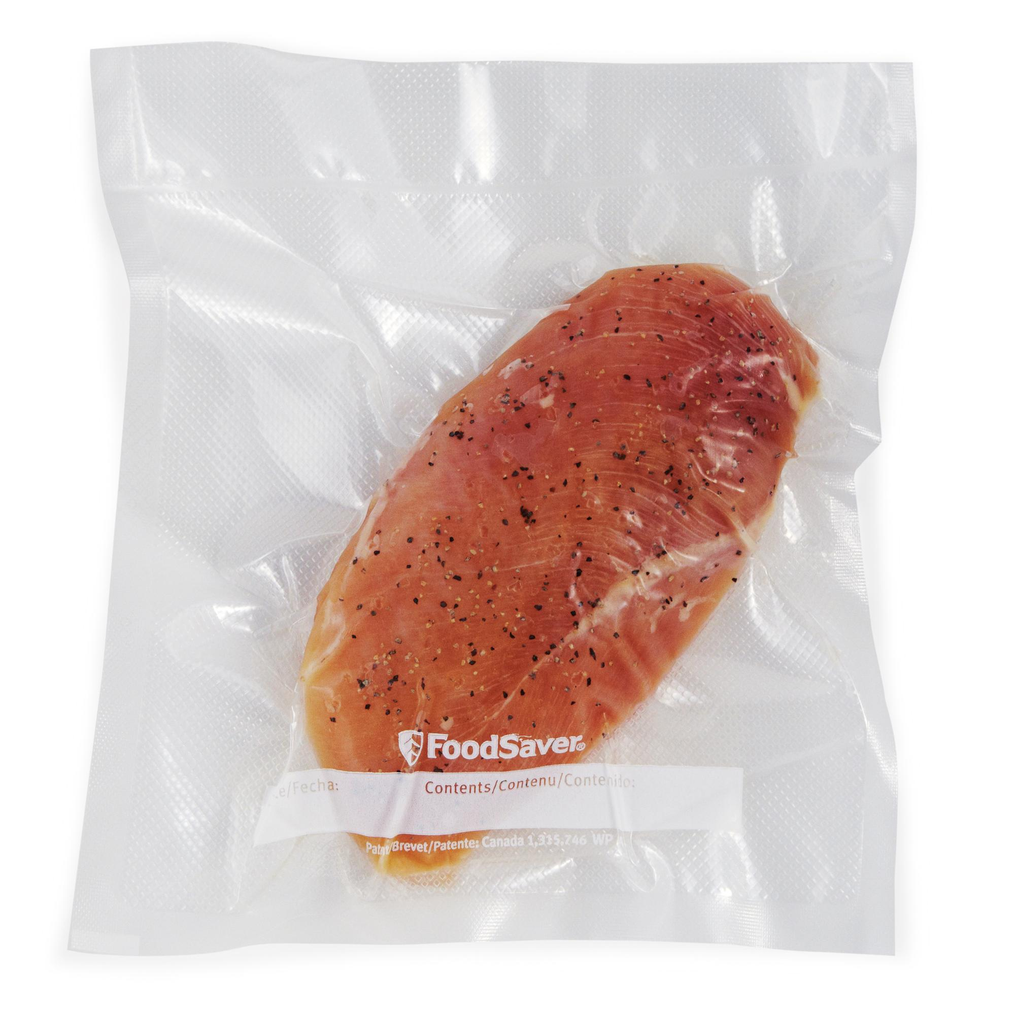 FoodSaver Gallon Heat Seal Pre-Cut Bags (64 Count) 2 - Ad