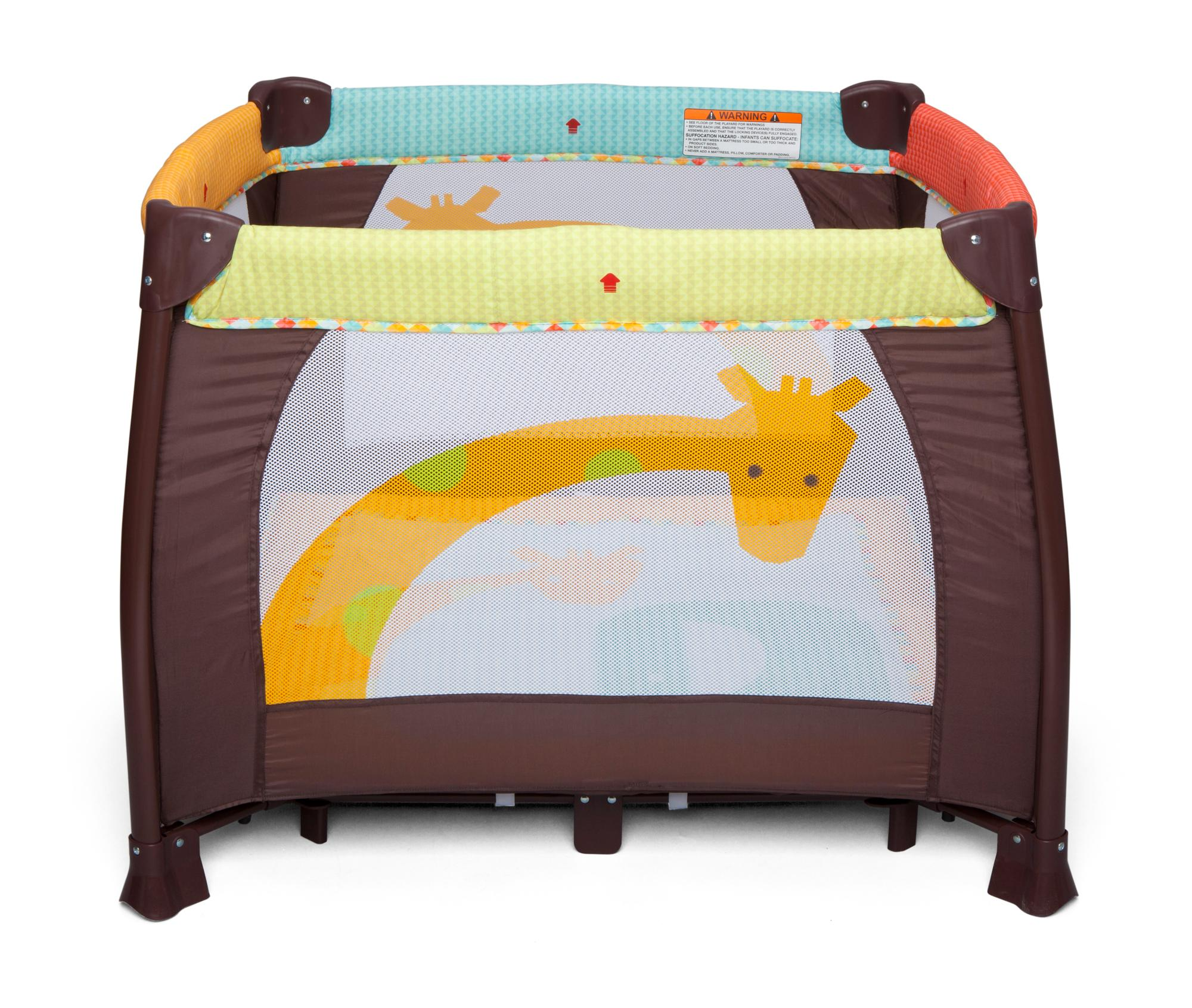 "Delta Children 36"" x 36"" Playard Novel Ideas Amazon Baby"