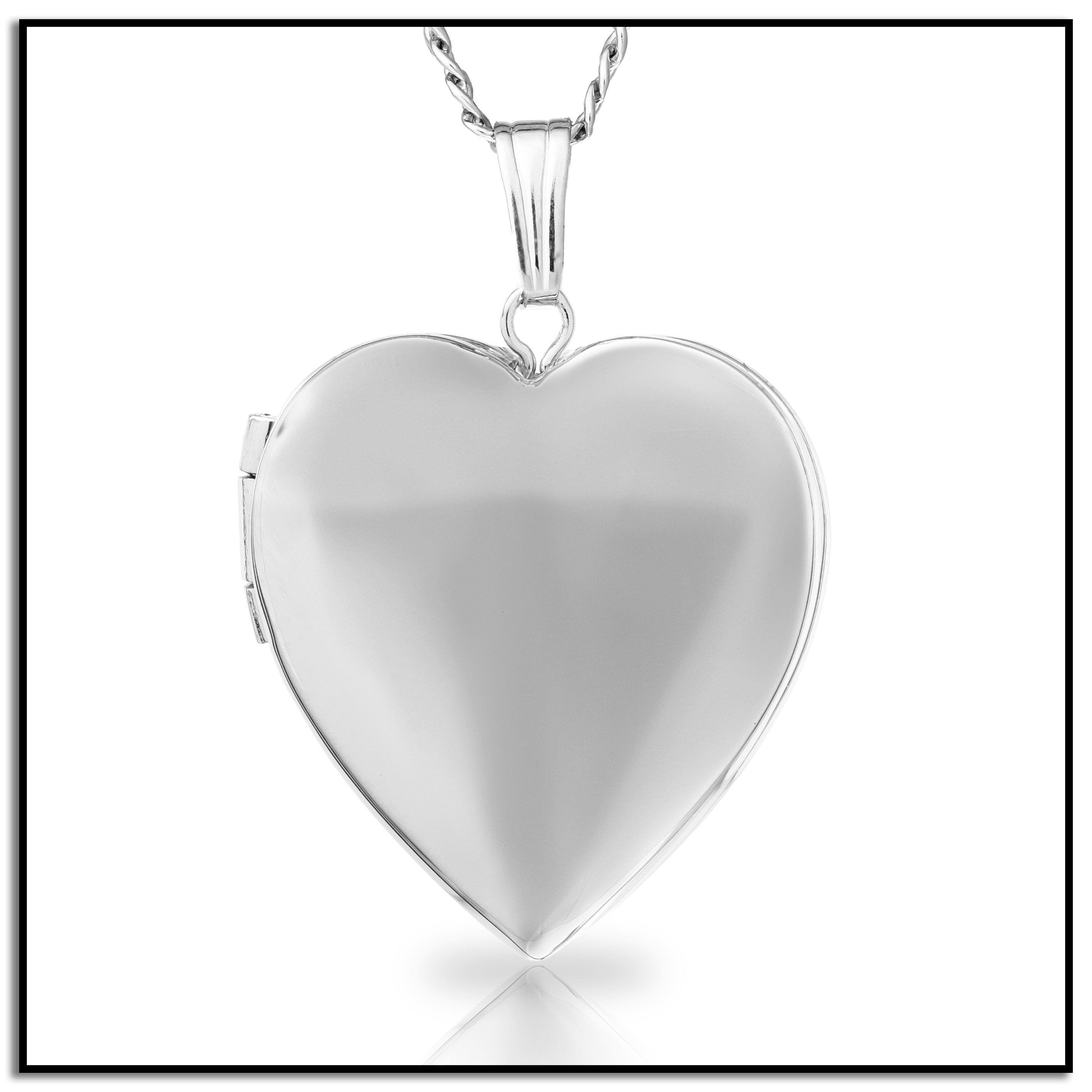 sterling heart weight grams rhod silver front p lockets back design length width locket plated