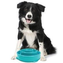 slow feeding dog bowl, bowls to prevent bloat, slow bowl, slow down eating