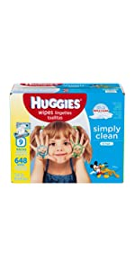 What are the best smelling baby wipes? Try Huggies Simply Clean Fresh Wipes for a nice fresh scent