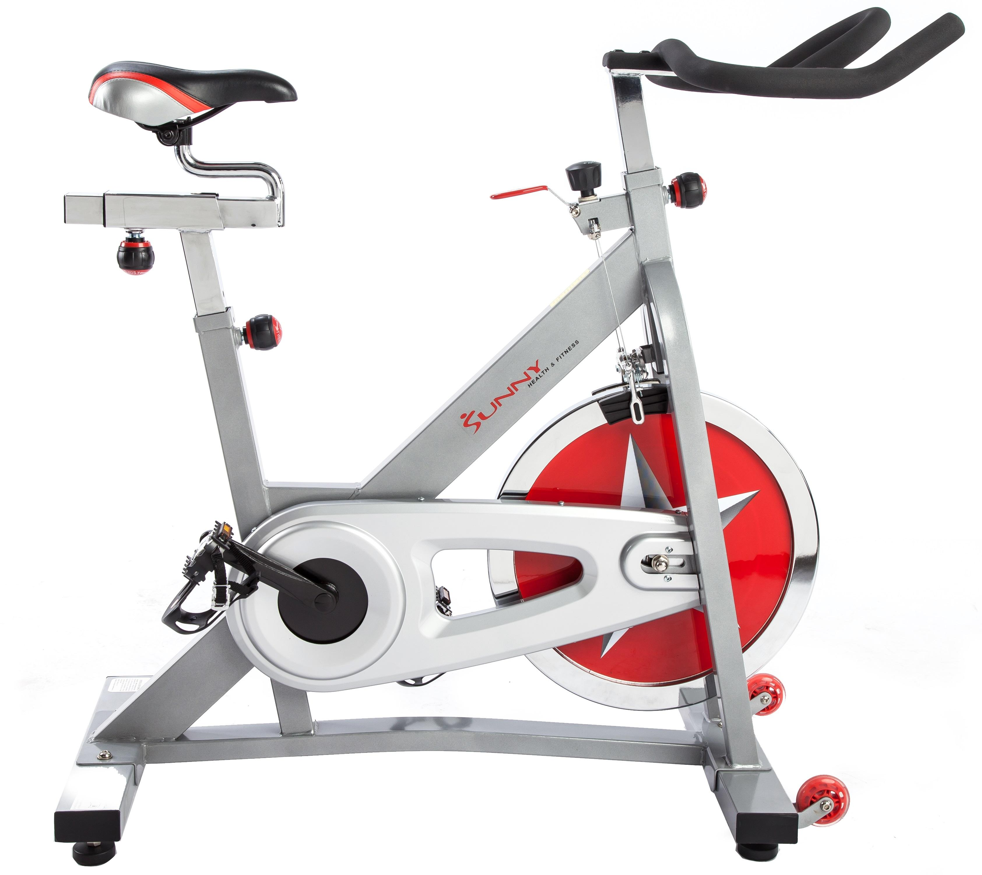 Sunny Health Amp Fitness Pro Indoor Cycling Bike Exercise