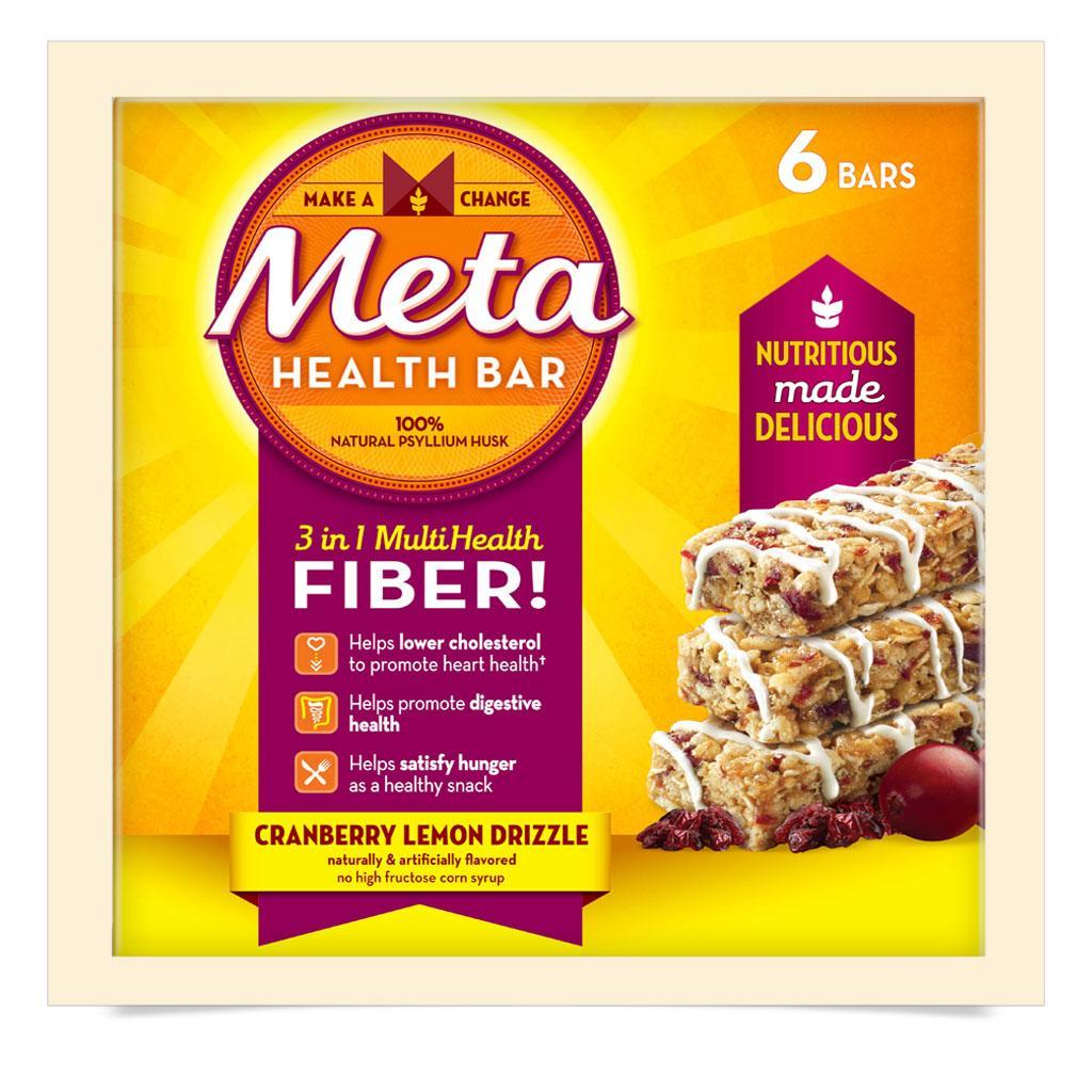 Ingredients in meta health bars - A Great Combination Of Flavor And Fiber Meta Health Bars