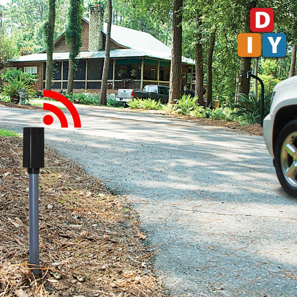 Patio Lights Amazon Ca: Mighty Mule FM231 Wireless Driveway Alarm, Security