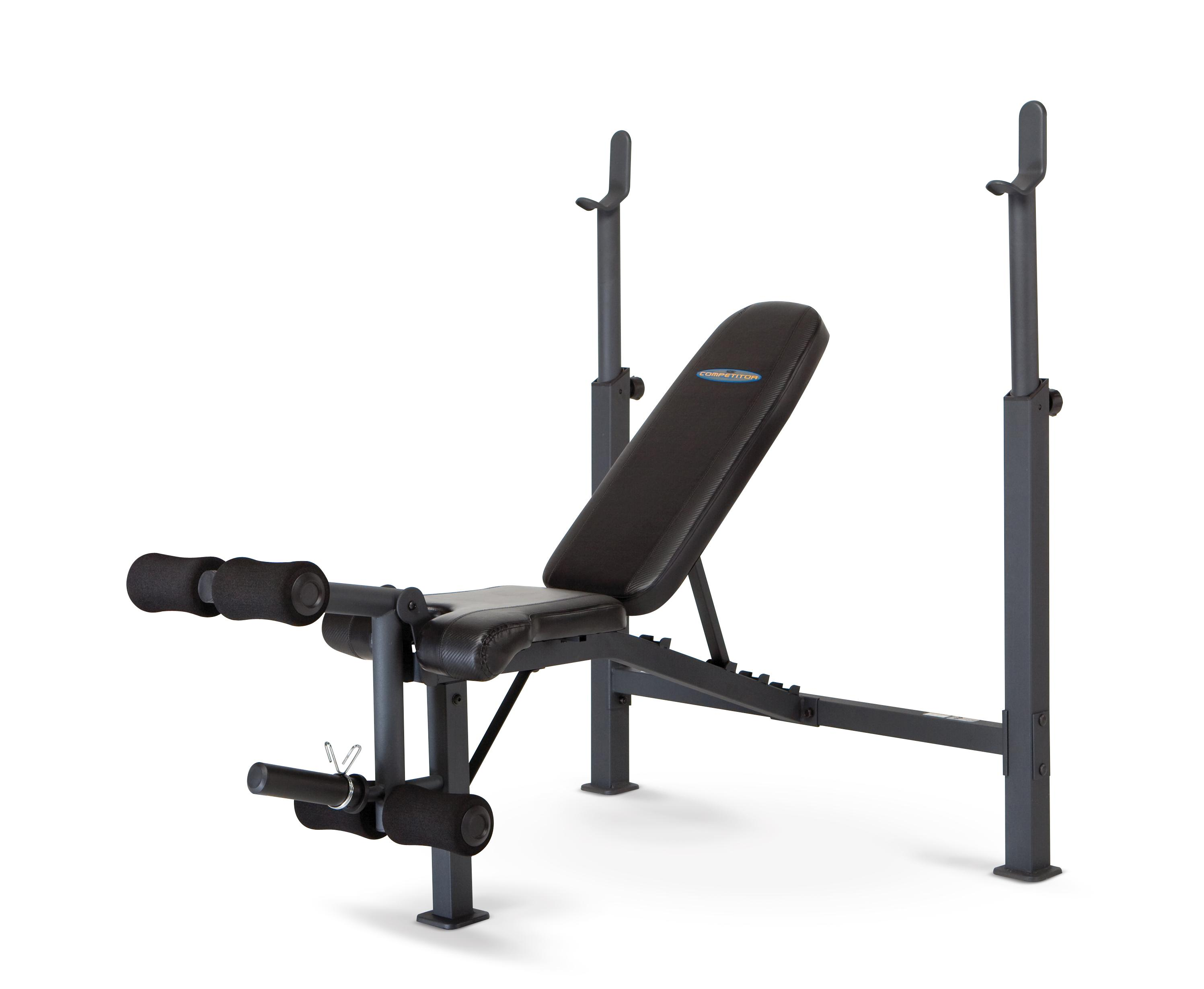 Marcy Competitor Adjustable Olympic Weight Bench With Leg