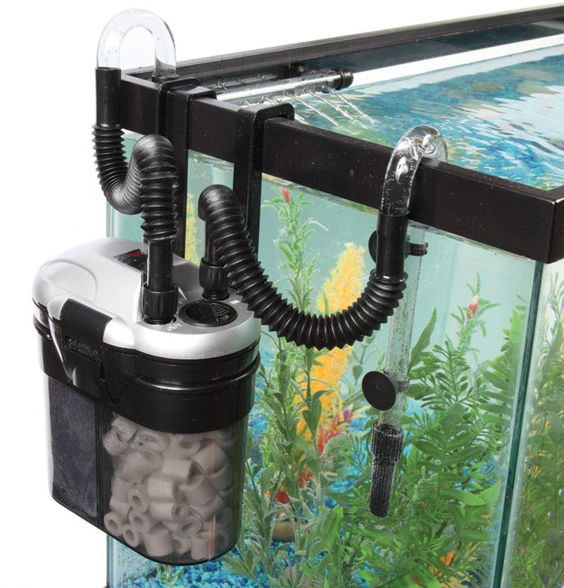 Tom aquarium rapids mini canister hang on the tank c 80 for How to set up a fish tank filter
