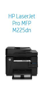 HP HP LaserJet Pro MFP M225dn Black: Amazon ca: Electronics