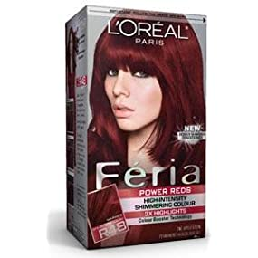 LOreal Feria Hair Color  36 Chocolate Cherry Deep Burgundy Brown : Amazon.ca: Home  Kitchen