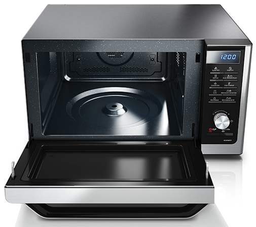 Samsung Mc11h6033ct Countertop Convection Microwave With 1