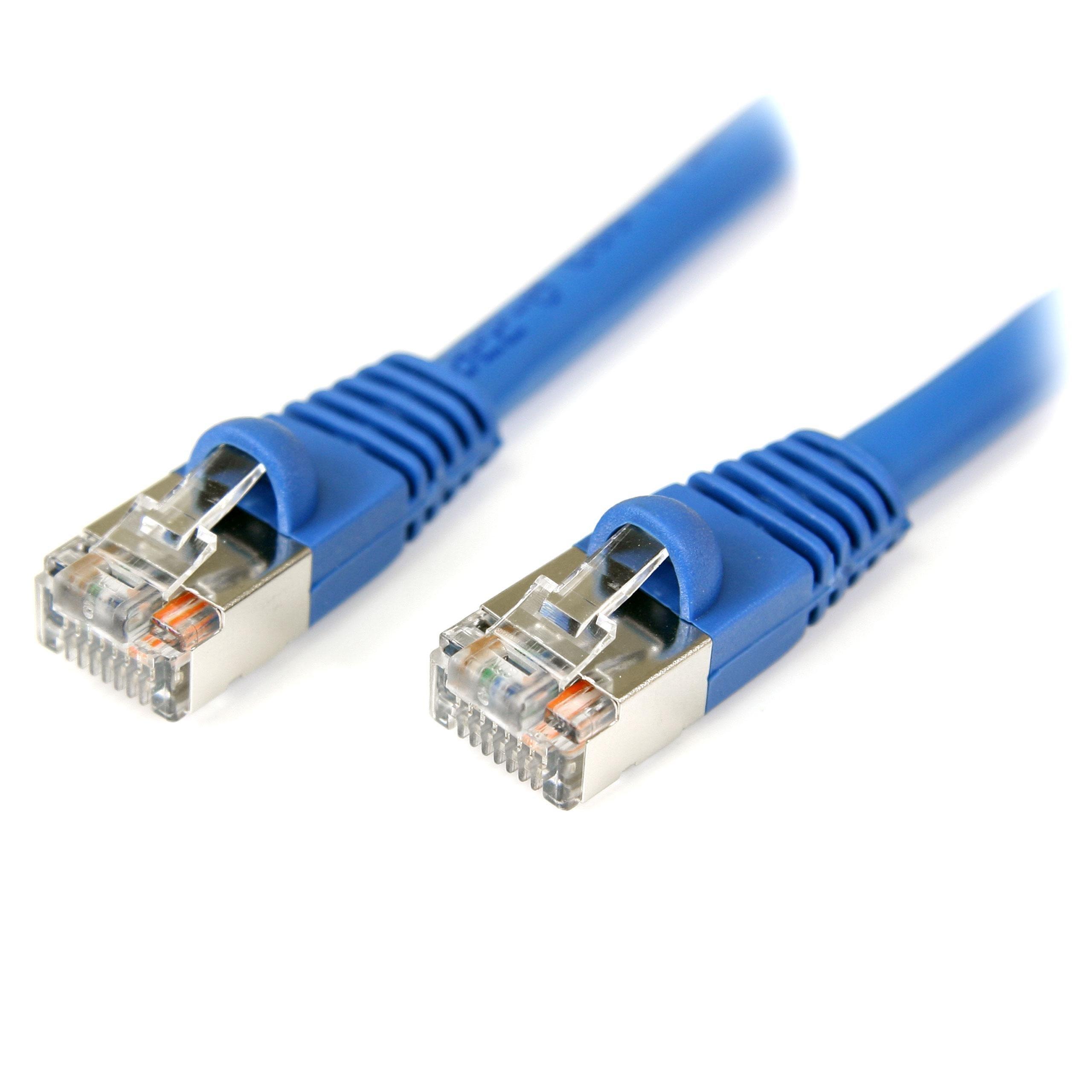 StarTech.com Cat5e Ethernet Cable100 ft - Blue - Patch Cable ...