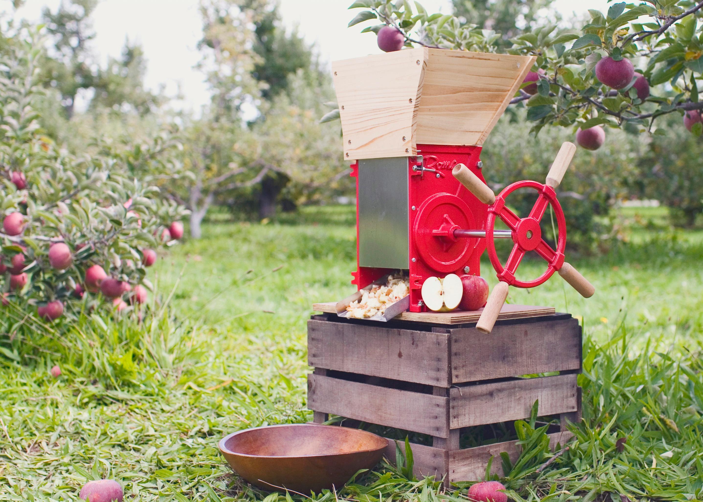 Fruit crusher grape apple crusher grinder for grape apple fruit - View Larger