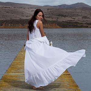Eileen West Women s 50 Inch Cap Sleeve Cotton Lawn Solid Gown e47010c21