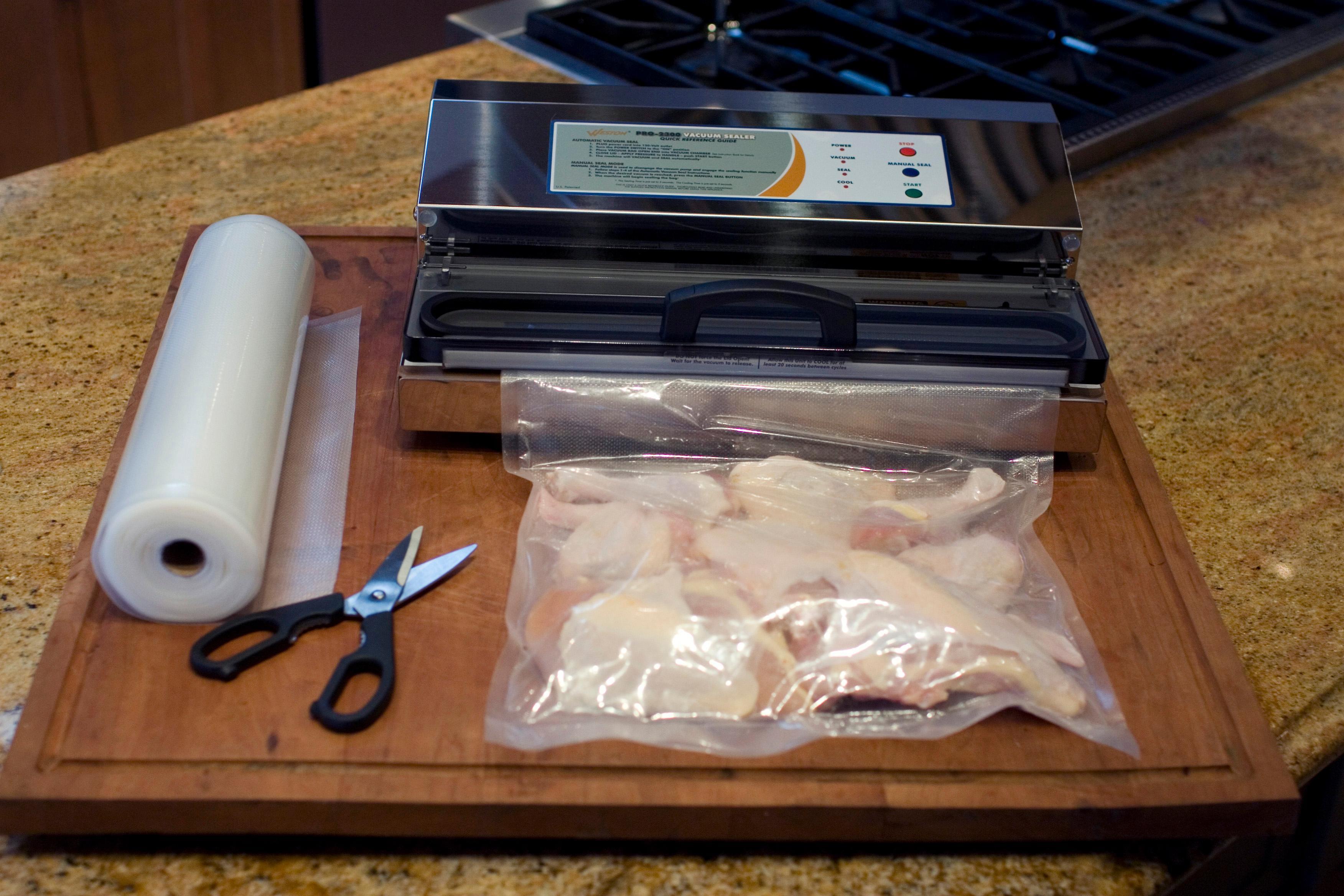 Weston 65 0201 Pro 2300 Vacuum Sealer Silver Amazon Ca