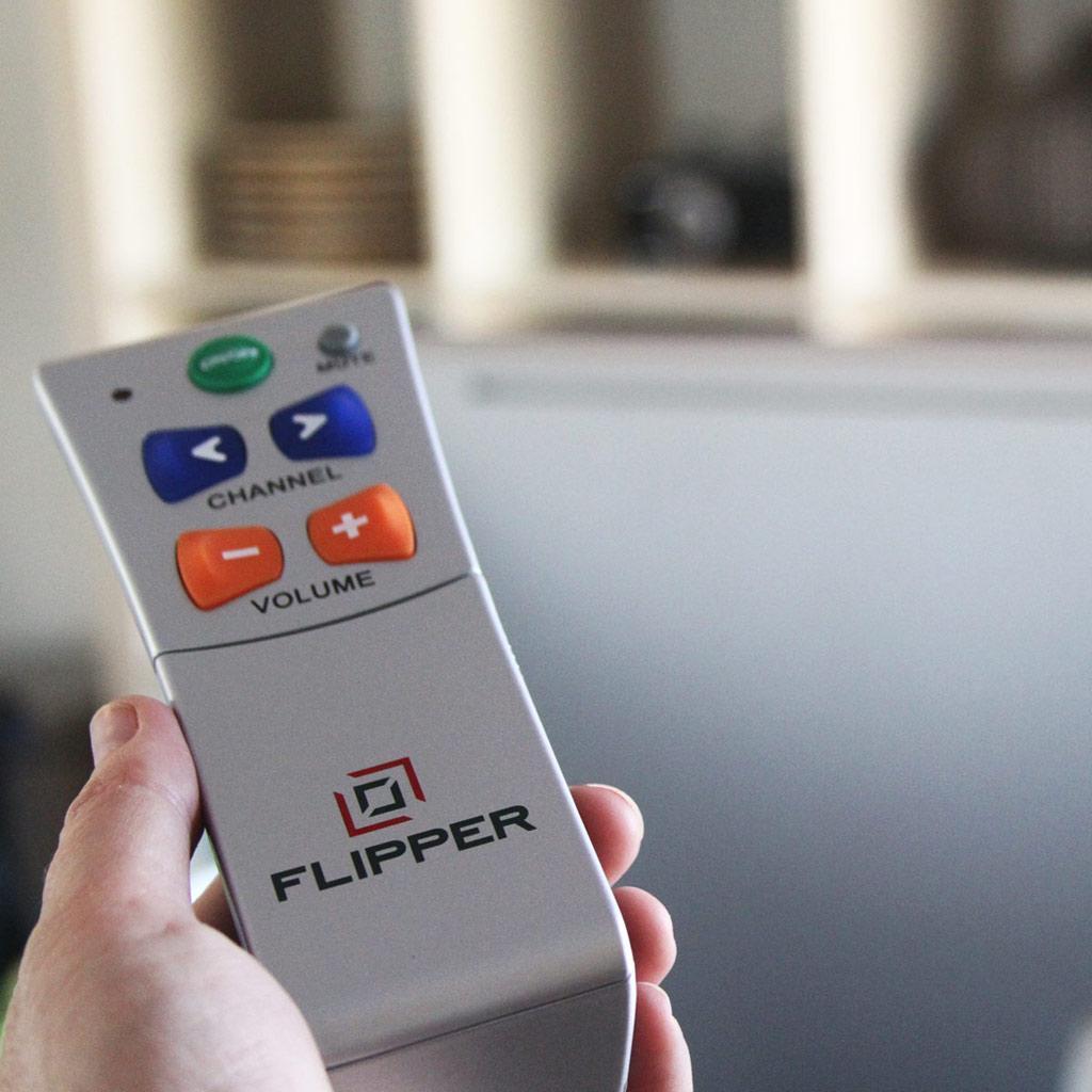Flipper Big Button Remote For Seniors Amazon Electronics