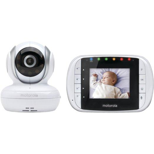 motorola mbp33s video baby monitor 2 8 inch baby. Black Bedroom Furniture Sets. Home Design Ideas