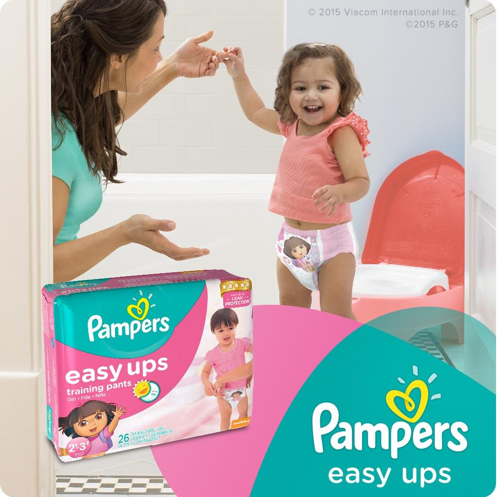 5e632742054 Pampers Easy Ups Training Pants Diapers for Girls