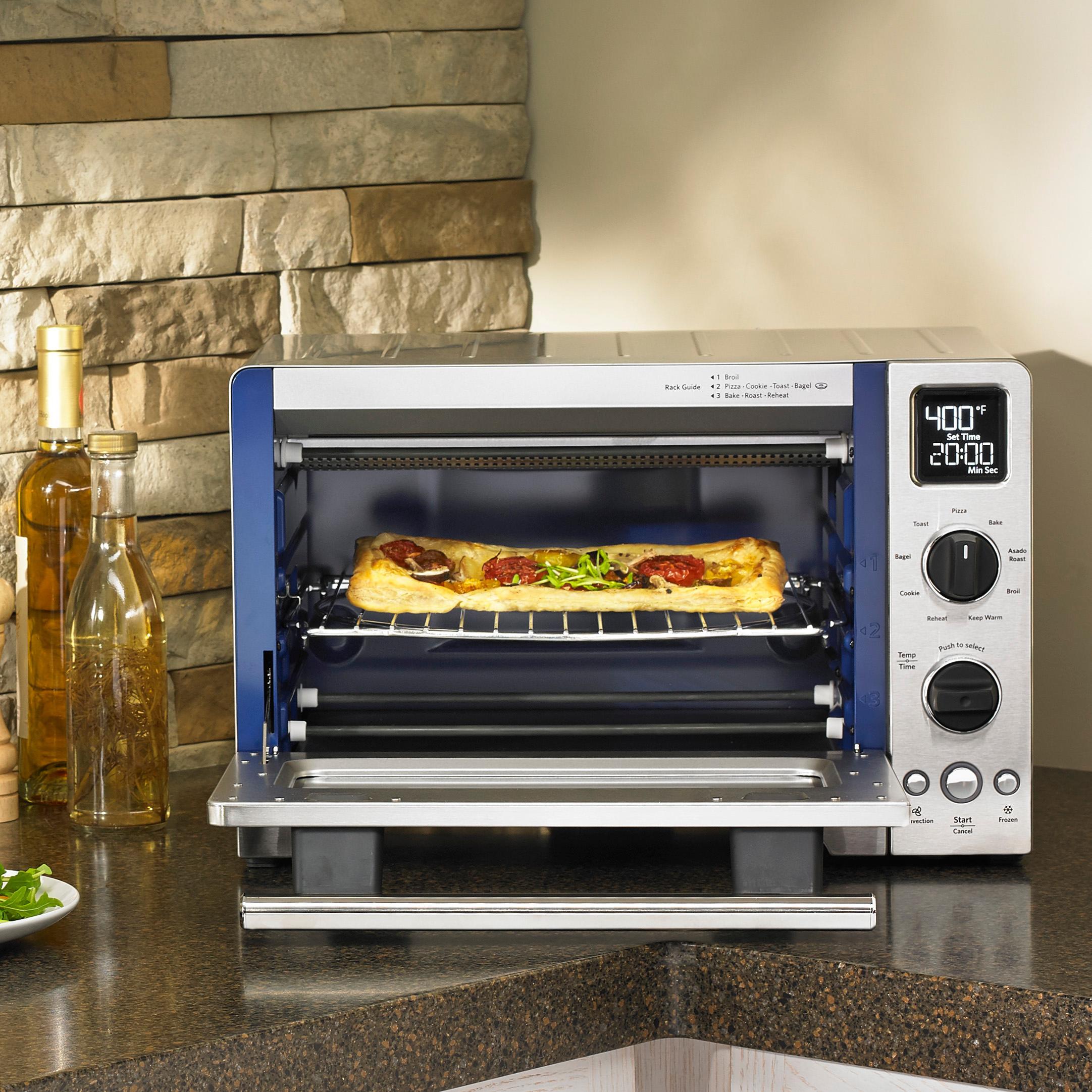oven com convection walmart silver ip large countertops kitchenaid compact contour countertop