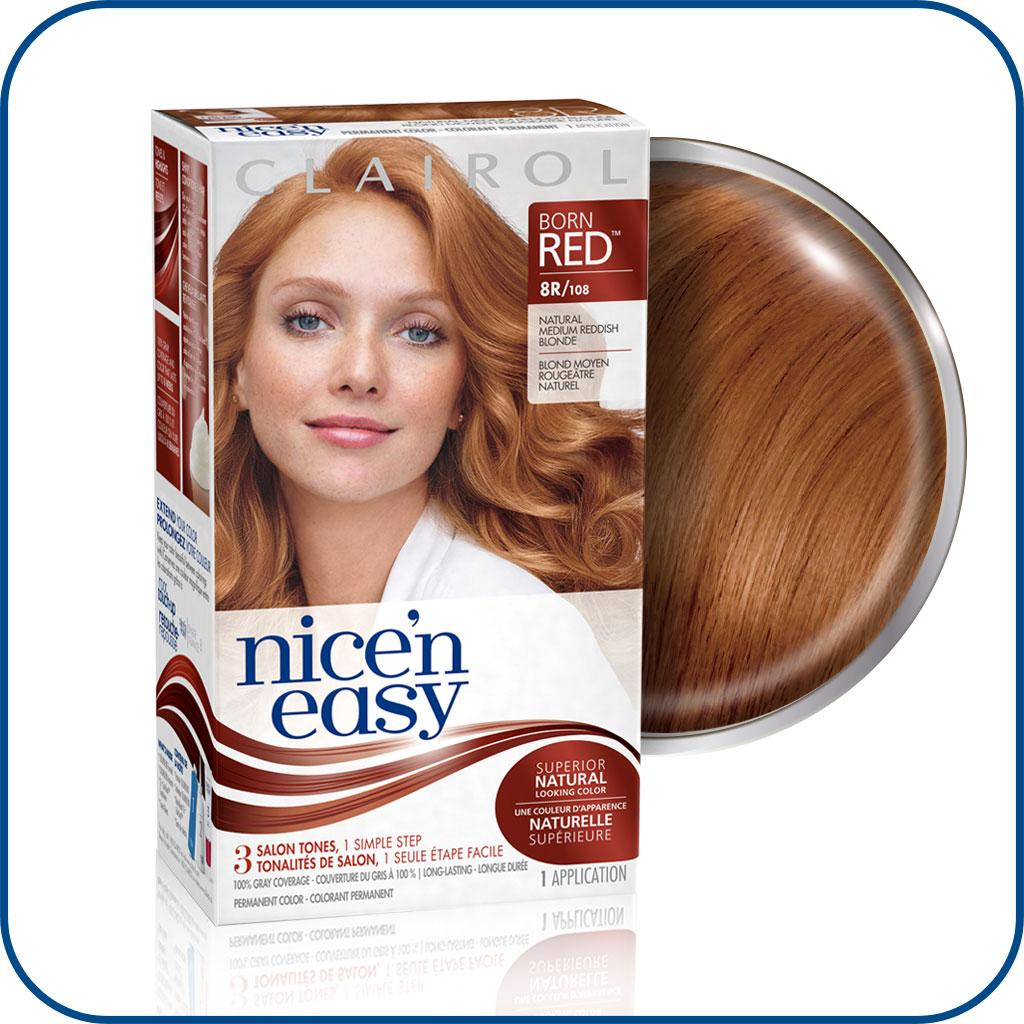 Clairol Nice N Easy 8r Medium Reddish Blonde Permanent