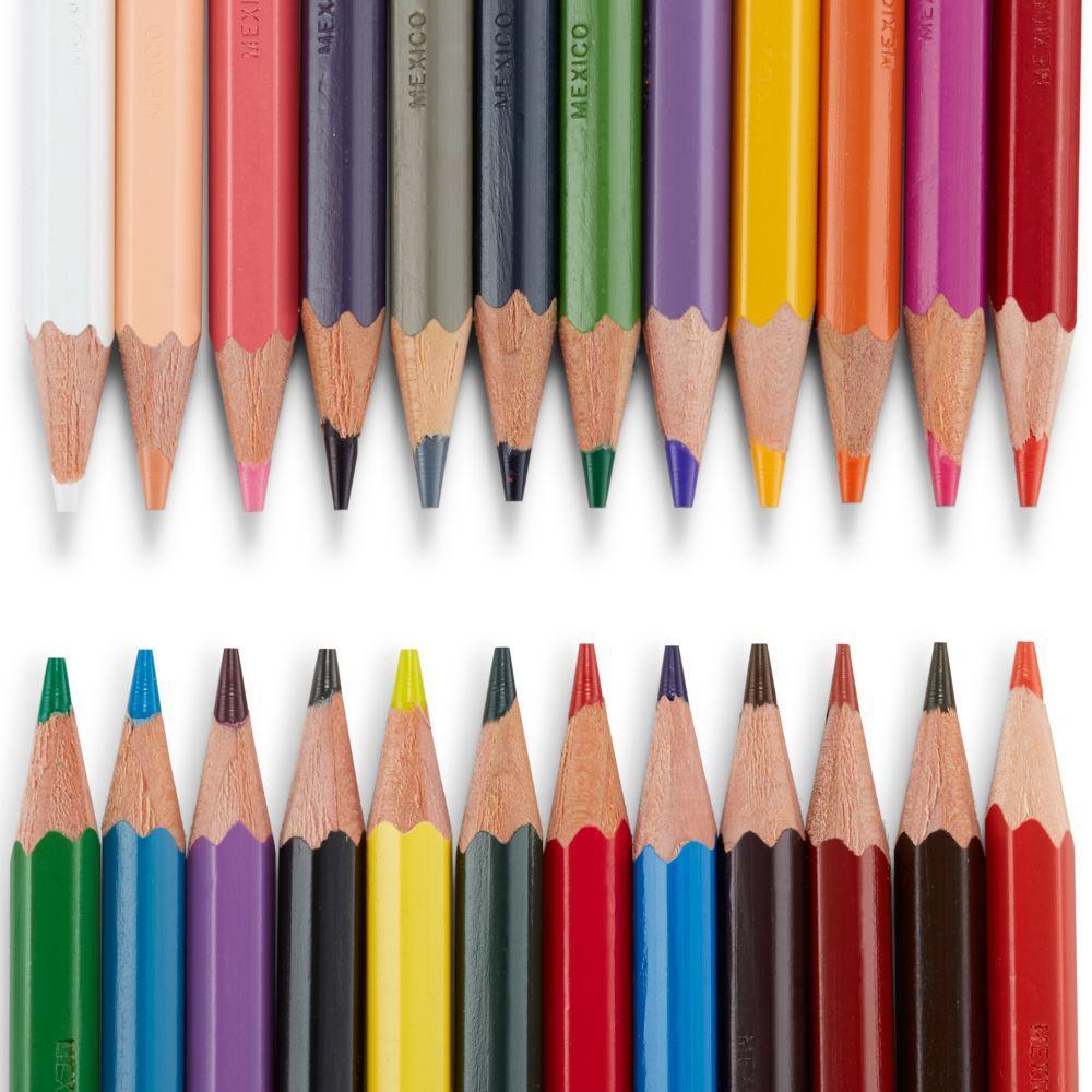 Prismacolor Col Erase Erasable Colored Pencils 24 Pack Assorted 20517 Amazon Ca Office