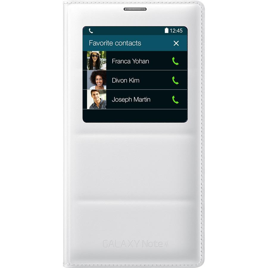 f2746eb3994 Samsung Galaxy Note 4 S-View Flip Cover (Frost White) · View larger