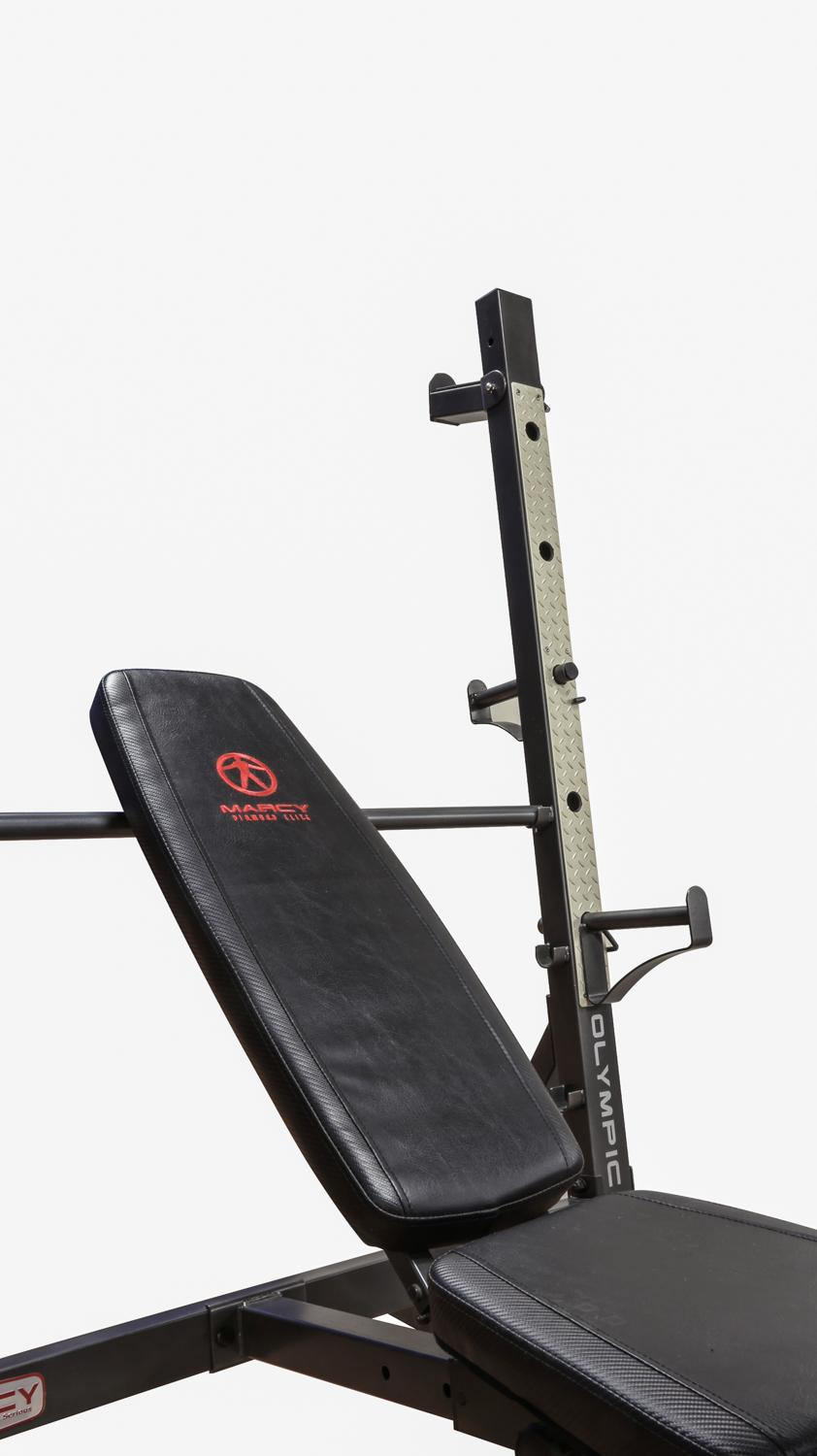Marcy Olympic Weight Bench For Full Body Workout Md 857