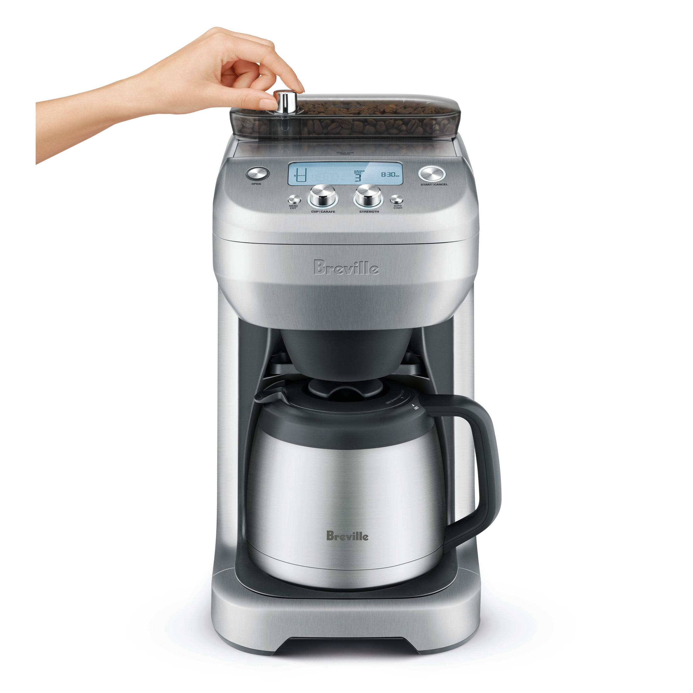 Breville Electric Coffee Maker : Breville BDC650BSS The Grind Control Drip Coffee Maker: Amazon.ca: Home & Kitchen