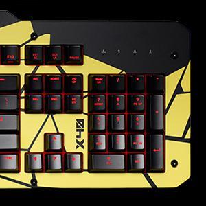 8a450d2402b Das Keyboard X40 Mechanical Gaming Keyboard Aluminum Top Panel ...