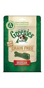 GREENIES Grain Free Dental Chews for Dogs