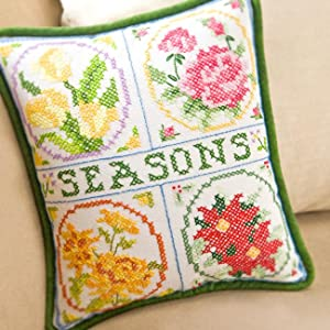 needlework pillow craft kit