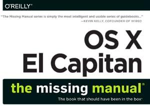 El Capitan, Missing Manual, David Pogue, OS X, Mac, Apple, iOS