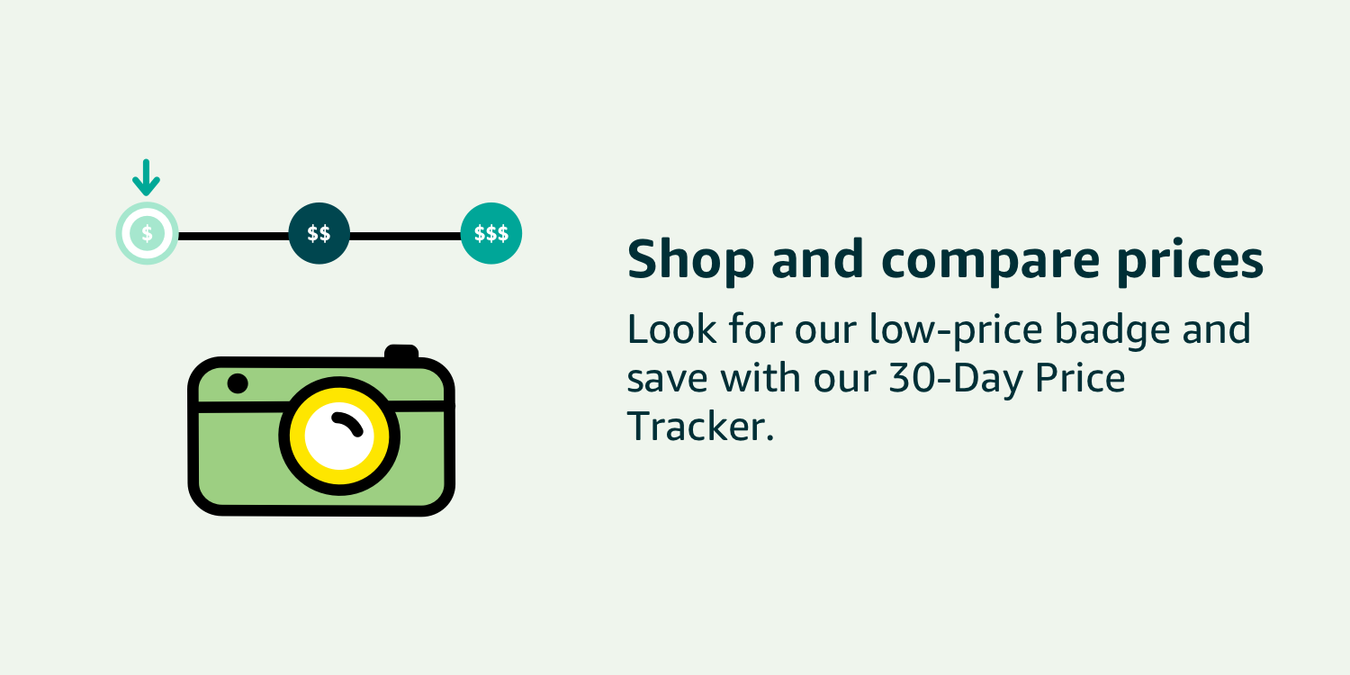 Shop and compare prices with 30-Day Price Tracker