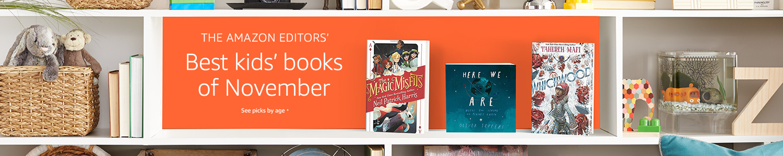 The Amazon Editors' Best kids' books of November