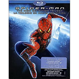 Coffret de Spider-Man 1 à 3 en Blu-ray