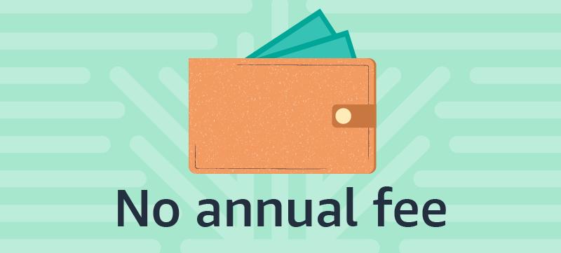 No annual credit card fees