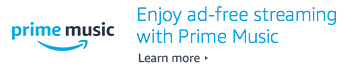 Enjoy ad-free streaming with Prime Music